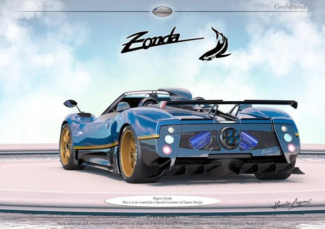 Pagani thai nghén phiên bản có một không hai mới của siêu xe Zonda - Ảnh 2.