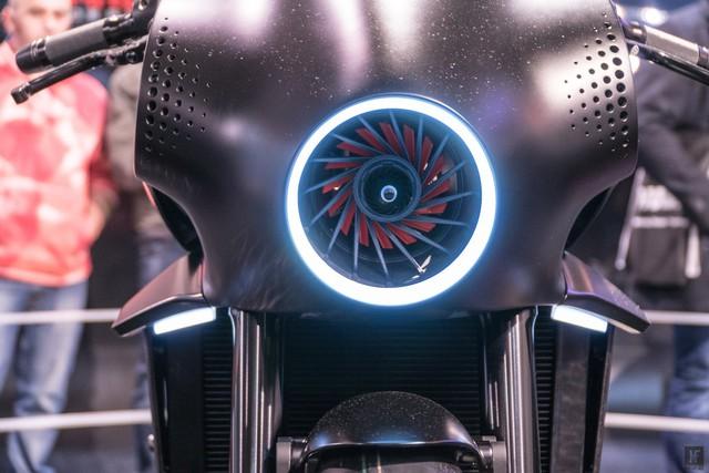 Chiêm ngưỡng vẻ đẹp của Honda CB4 Interceptor - xe café racer đến từ tương lai - Ảnh 6.