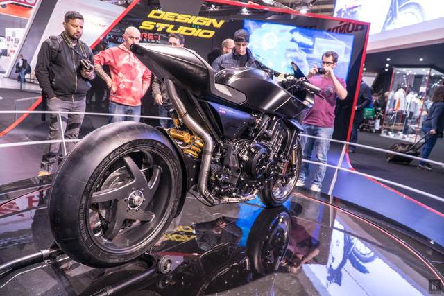 Chiêm ngưỡng vẻ đẹp của Honda CB4 Interceptor - xe café racer đến từ tương lai - Ảnh 7.
