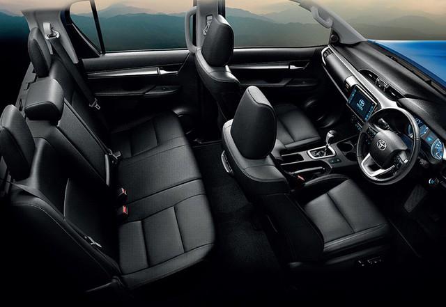 Toyota Hilux 2018 ra mắt với thiết kế tương tự Tacoma, khác xe ở Việt Nam - Ảnh 5.