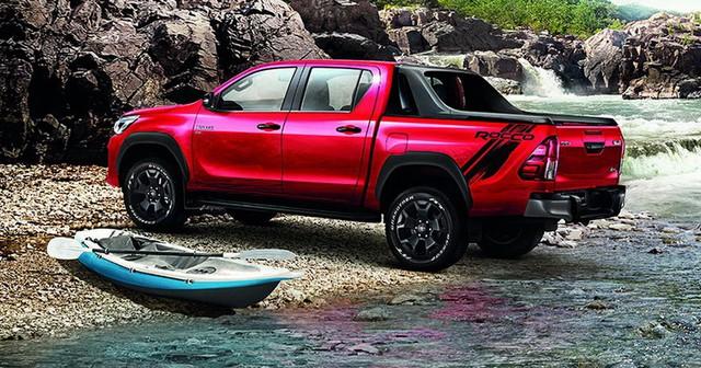 Toyota Hilux 2018 ra mắt với thiết kế tương tự Tacoma, khác xe ở Việt Nam - Ảnh 7.