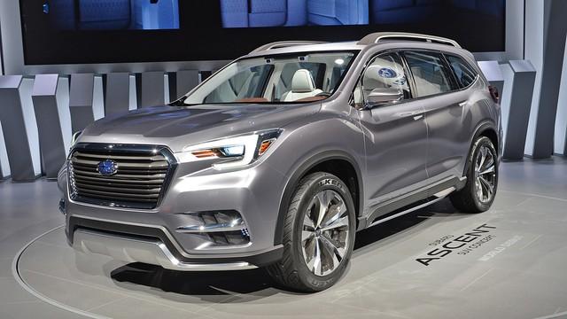 Cạnh tranh Ford Explorer và Toyota Highlander, Subaru quay trở lại phân khúc SUV 7 chỗ - Ảnh 1.