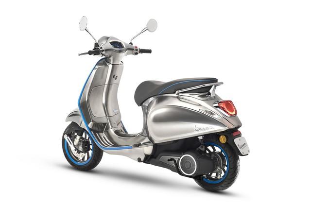 Xe tay ga Vespa chạy điện sẽ được bán ra vào năm sau - Ảnh 3.