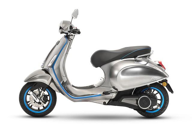 Xe tay ga Vespa chạy điện sẽ được bán ra vào năm sau - Ảnh 5.