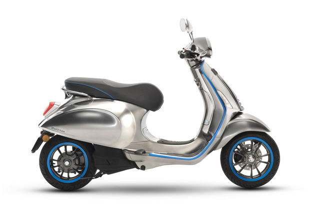 Xe tay ga Vespa chạy điện sẽ được bán ra vào năm sau - Ảnh 6.