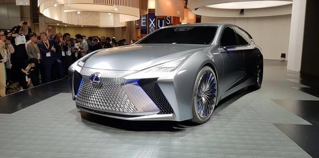 LS+ Concept - Hình ảnh xem trước cho sedan hạng sang đầu bảng của Lexus - Ảnh 12.