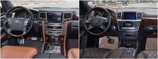 Lexus LX570 vs Mercedes GL500: Đi hơn 2 năm, xe nào giữ giá hơn? - Ảnh 6.