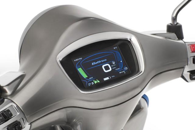 Xe tay ga Vespa chạy điện sẽ được bán ra vào năm sau - Ảnh 7.