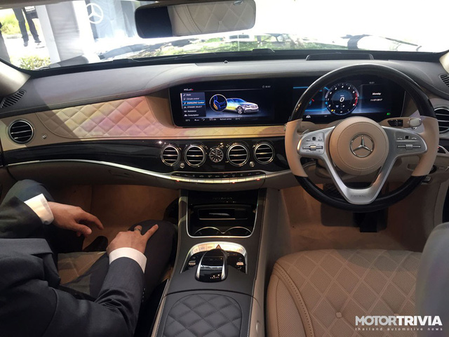 Mercedes S-Class 2018 ra mắt thị trường Đông Nam Á, giá từ 234.500 USD - Ảnh 8.