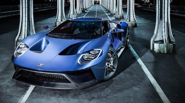 """Khám phá những tính năng thú vị nhất của siêu xe """"kén khách"""" Ford GT 2017"""