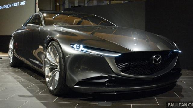 Ngắm Mazda Vision Coupe để biết Mazda6 thế hệ mới sẽ trông như thế nào
