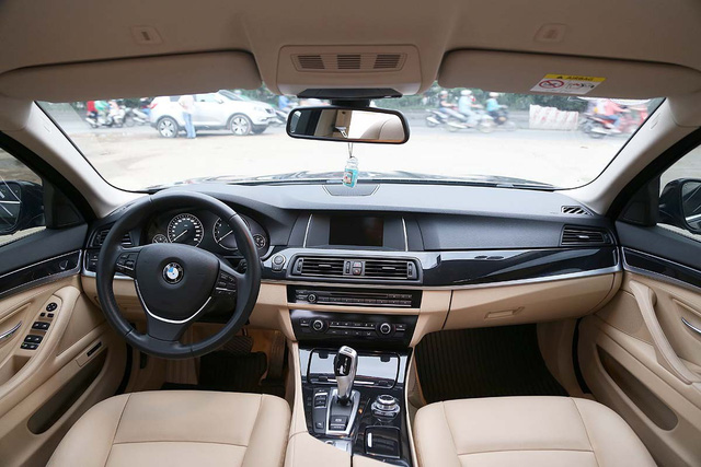 Lăn bánh gần 13.000km, BMW 520i 2016 mất giá hơn 600 triệu đồng - Ảnh 5.