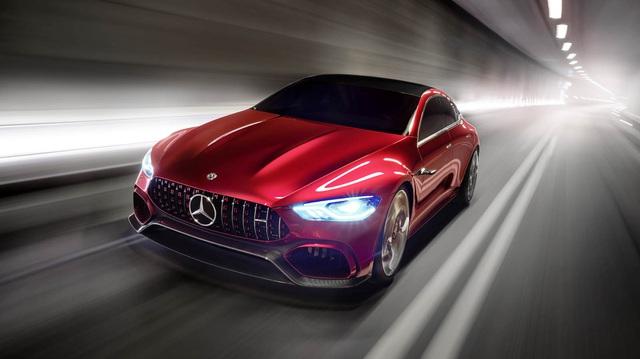 Mercedes-AMG GT Concept - Ô tô thể thao 4 chỗ, mạnh hơn cả siêu xe