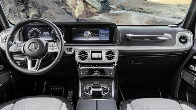 5 điểm thú vị nhất trong nội thất của Mercedes-Benz G-Class 2019 - Ảnh 4.