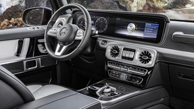 5 điểm thú vị nhất trong nội thất của Mercedes-Benz G-Class 2019 - Ảnh 1.