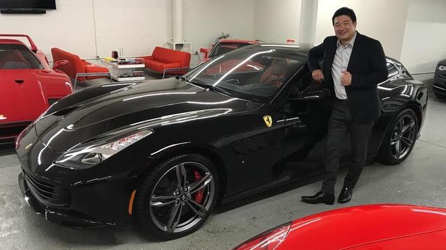 Hành trình trở thành nhà sưu tập siêu xe Ferrari có tiếng của một triệu phú người Mỹ gốc Á