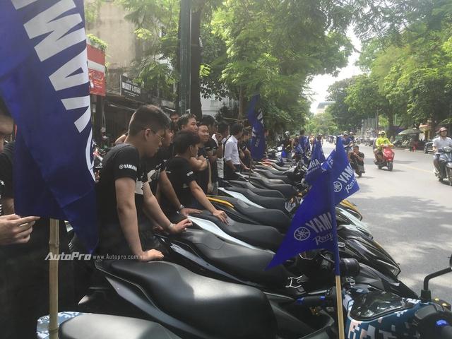 Gần 100 xe Yamaha NVX tổ chức offline tại Hà Nội - Ảnh 2.
