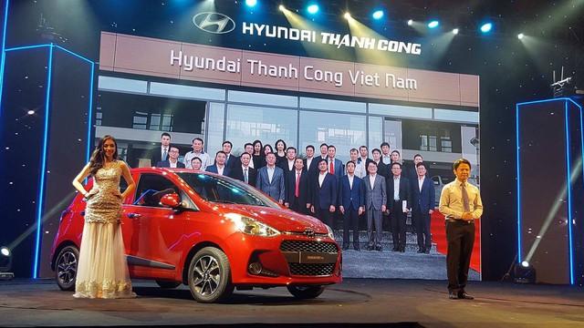 Hyundai Grand i10 2017 lắp ráp tại Việt Nam chính thức ra mắt, giá từ 340 triệu Đồng - Ảnh 1.