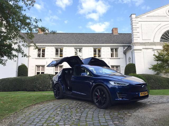 Tesla Model X vỗ cánh trêu ngươi siêu xe Lamborghini Gallardo SuperLeggera - Ảnh 3.