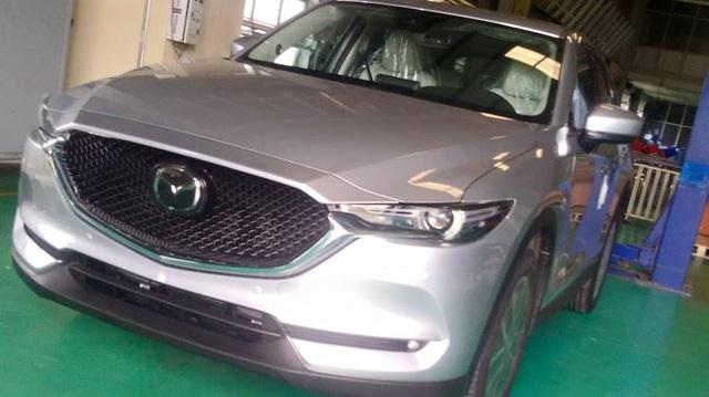 Xuất hiện hình ảnh được cho là của Mazda CX-5 2017 tại Việt Nam