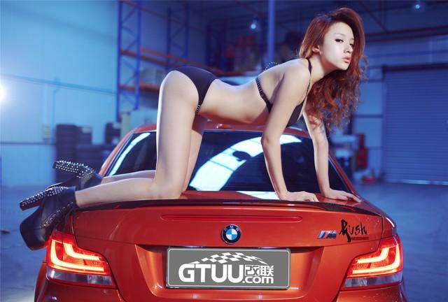 Cô nàng da sáng, dáng xinh bên BMW M-series - Ảnh 12.