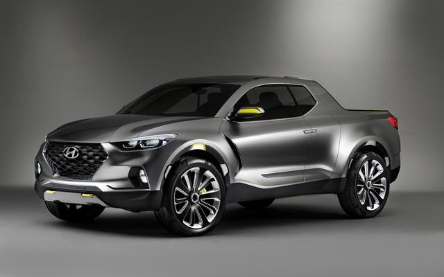 Hyundai phát triển xe bán tải thực thụ để cạnh tranh Ford Ranger và Toyota Hilux - Ảnh 1.