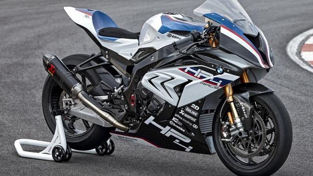 BMW HP4 Race 2017 - Mô tô phân khối lớn siêu nhẹ và công nghệ cao