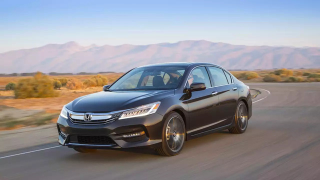 Honda Accord là xe bị ăn trộm nhiều nhất tại Mỹ, hơn Toyota Camry