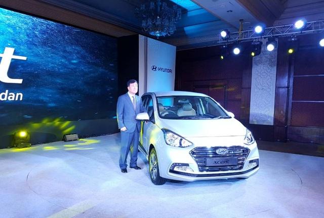 Hyundai Grand i10 Sedan 2017 chính thức trình làng, giá từ 189 triệu Đồng - Ảnh 1.