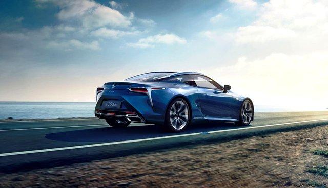 Coupe hạng sang Lexus LC500h 2018 tiết kiệm xăng hơn cả Toyota Camry - Ảnh 1.
