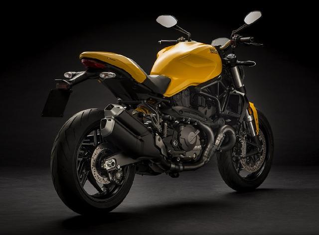 Ducati Monster 821 2018: nâng cấp thiết kế, giảm thiểu sức mạnh - Ảnh 2.