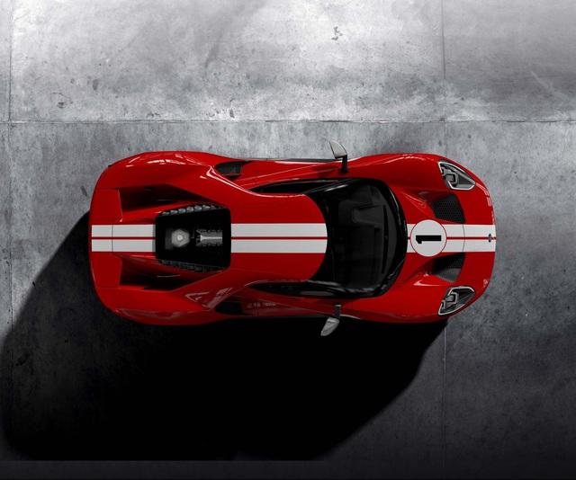 GT 67 Heritage Edition - Siêu xe kỷ niệm chiến thắng của Ford tại giải đua Le Mans 1967 - Ảnh 4.