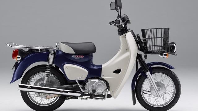 Honda Super Cub 2018 trình làng với đèn pha LED, giá từ 46,5 triệu Đồng