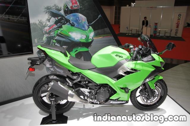 Kawasaki Ninja 250 2018 trình làng với thiết kế hoàn toàn mới, động cơ mạnh hơn - Ảnh 3.