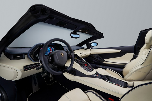 Lamborghini Aventador S LP740-4 mui trần chính thức trình làng, giá từ 10,4 tỷ Đồng - Ảnh 11.