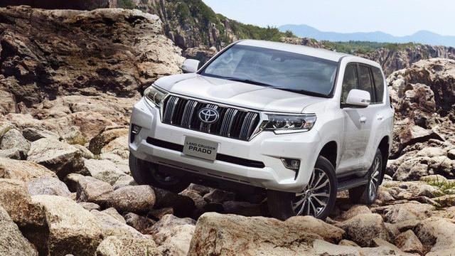 """Toyota Land Cruiser Prado 2018 bản máy xăng 2.7L sẽ bị """"khai tử"""" tại Trung Quốc"""