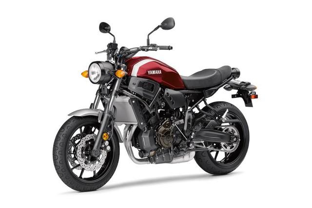 Yamaha XSR900 và XSR700 đời 2018 chính thức trình làng - Ảnh 2.