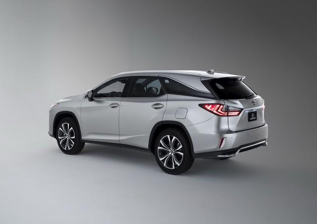 Lexus RX L chính thức gia nhập phân khúc SUV 7 chỗ hạng sang - Ảnh 6.