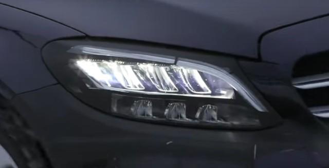 Mercedes-Benz C-Class 2019 sẽ có đèn pha đẹp hơn cả S-Class? - Ảnh 2.