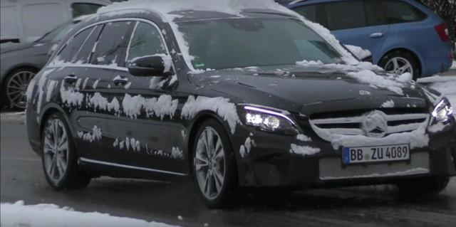Mercedes-Benz C-Class 2019 sẽ có đèn pha đẹp hơn cả S-Class? - Ảnh 3.