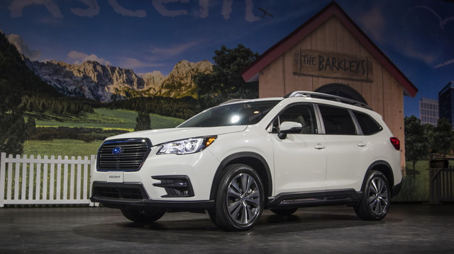 Cạnh tranh Ford Explorer và Toyota Highlander, Subaru quay trở lại phân khúc SUV 7 chỗ