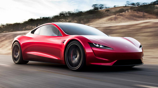 Tesla Roadster gây sốc khi tăng tốc từ 0-96 km/h chỉ trong 1,9 giây