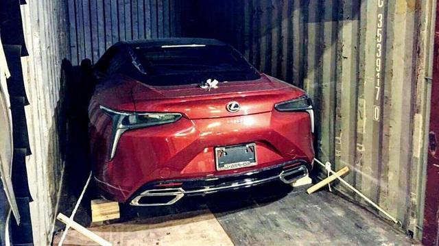 """Xe thể thao hạng sang Lexus LC500 2018 """"rục rịch"""" cập bến Việt Nam"""