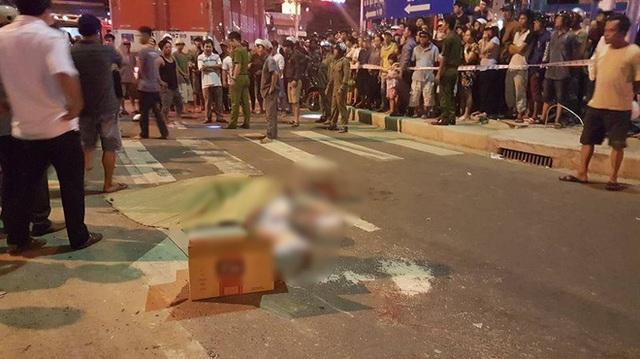 Video nữ sinh lớp 9 bị xe tải kéo lê trên đường và tử vong khi đi học thêm về tại Đà Nẵng
