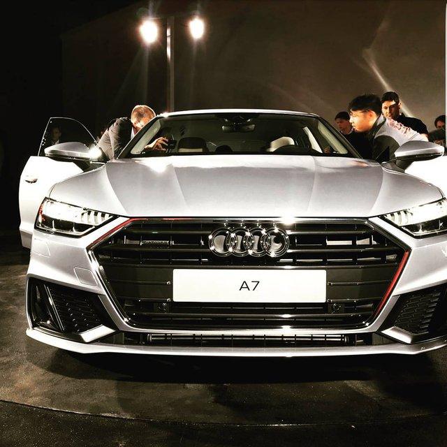 Chiêm ngưỡng vẻ đẹp bằng xương, bằng thịt của xe sang Audi A7 Sportback 2018 mới ra mắt - Ảnh 3.