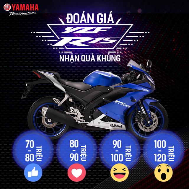 Yamaha R15 sắp được bán chính hãng tại Việt Nam với mức giá nào? - Ảnh 1.