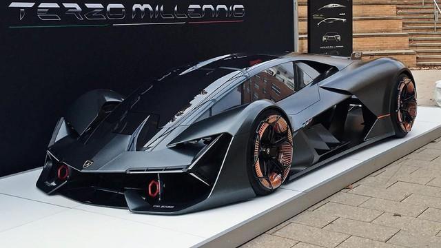 """Chiêm ngưỡng vẻ đẹp """"bằng xương, bằng thịt"""" của siêu phẩm Lamborghini Terzo Millennio mới ra mắt"""