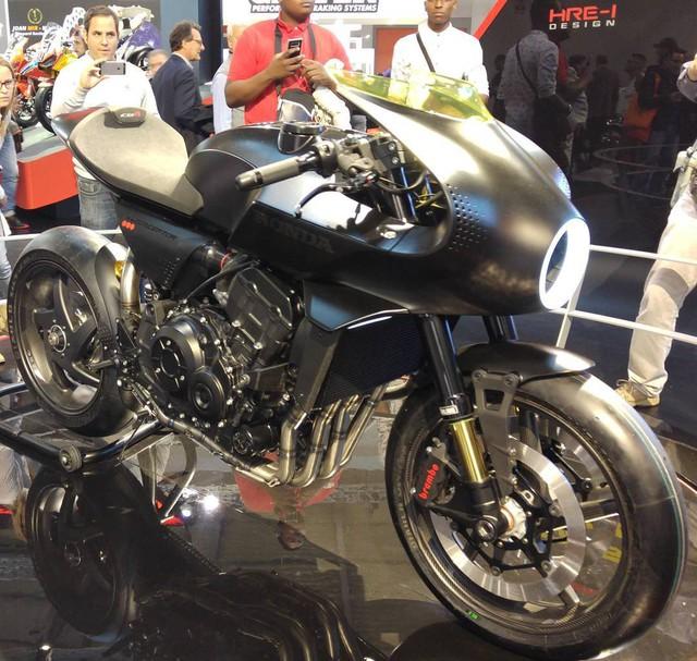 Chiêm ngưỡng vẻ đẹp của Honda CB4 Interceptor - xe café racer đến từ tương lai - Ảnh 5.