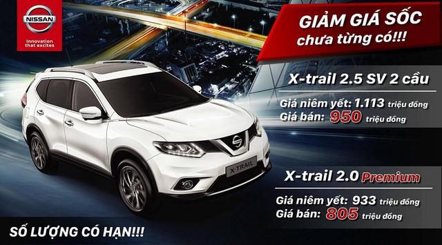 Sự thật việc Nissan X-Trail giảm hơn 160 triệu, về mốc 800 triệu đồng - Ảnh 1.