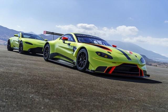 Vừa ra mắt, Aston Martin Vantage 2019 đã có phiên bản đua chuyên nghiệp GTE - Ảnh 5.